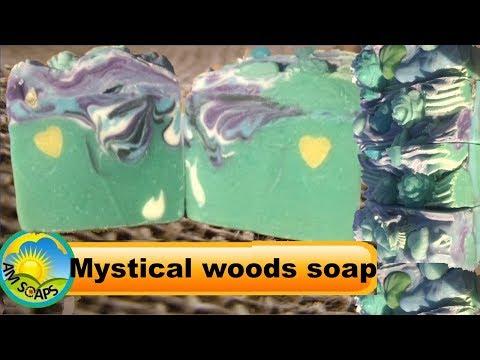 Mystical woods soap