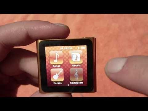 iPod Nano 6G User Interface Video