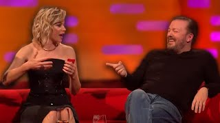 Ricky Gervais Effortlessly Hilarious Interview Clips
