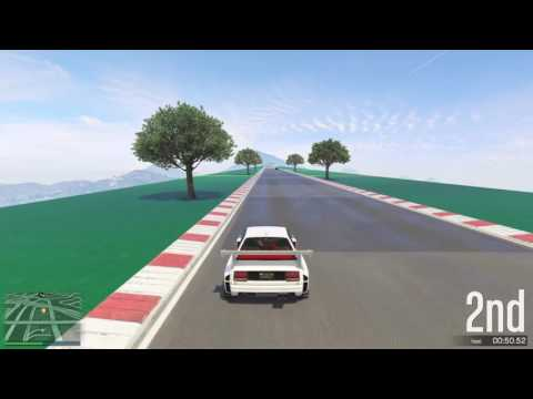 GTA 5 Top Speed Drag Race (Specter Custom vs. Obey Omnis)