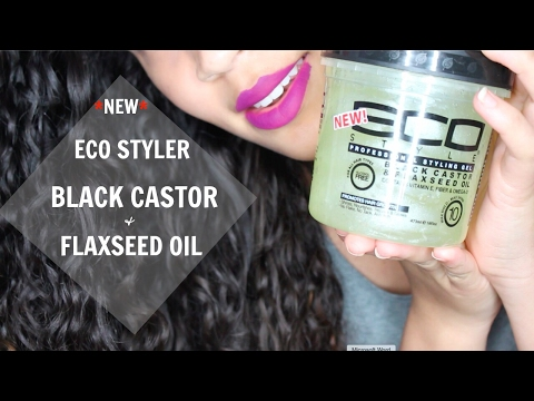*NEW* ECO STYLER BLACK CASTOR AND FLAXSEED OIL GEL WASH & GO | Holy Grail or Absolute Fail? 🤔