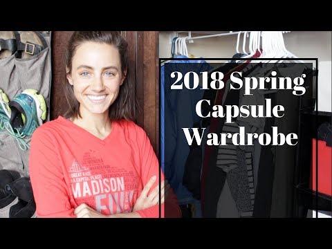 My 2018 Spring Capsule Wardrobe