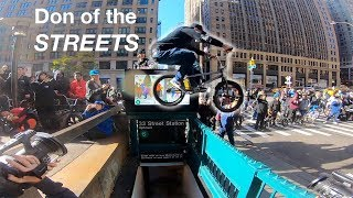 BMX Riders Take Over NYC! (Don of the Streets)