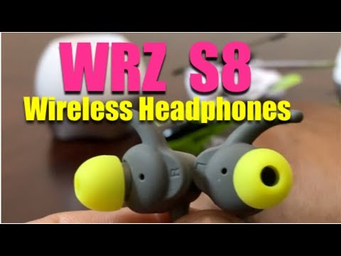WRZ S8 Wireless Headphones