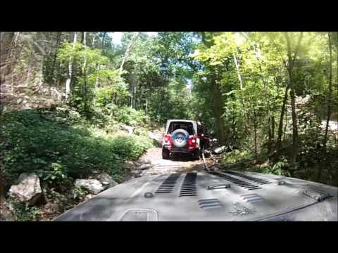 Rush Springs Ranch ~ Part 3 ~ Deep V and some Steep Hills