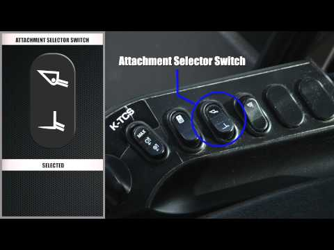 HST Wheel Loader Kwick Tips: Attachment Selector Switch