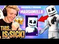 """Tfue BUYS & GOES CRAZY For the *NEW* """"Marshmello"""" Skin and """"Marsh Walk"""" Emote! - Fortnite Moments"""