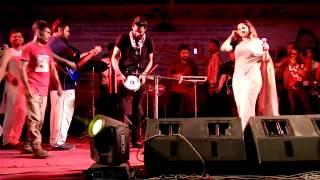 আখি আলমগীরের  মিউজিক শো দেখুন?চরম মজার গান, Miguel show By Akhi Alamgir।