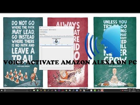 Voice Activate Amazon Alexa on Windows PC with Wake Word and Auto Start Service on Boot