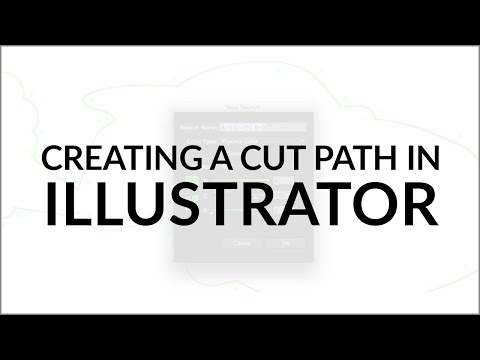 How To Create A Cut Path In Adobe Illustrator