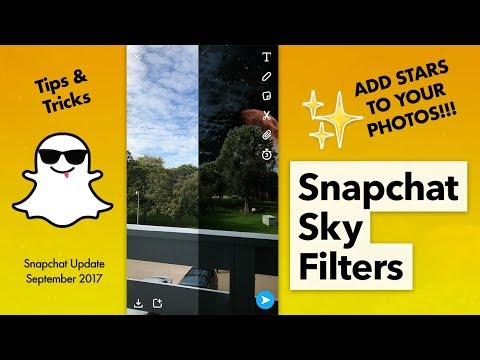 How to Use Snapchat Sky Filters