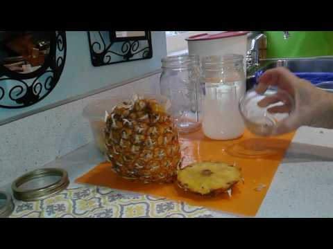 Pineapple Farming Season Two Extra: DIY Fermented Pineapple Vinegar