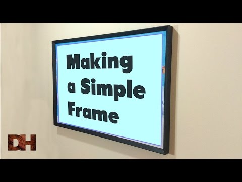 Making a simple frame