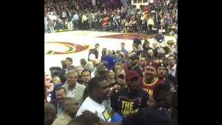 draymond greens mom mary babers fights with cavs fans