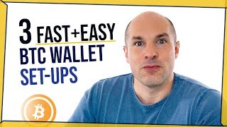 How to get a Bitcoin Wallet Address - FREE & in under a minute