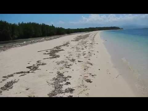 Along the Shore of Snake Island, Palawan
