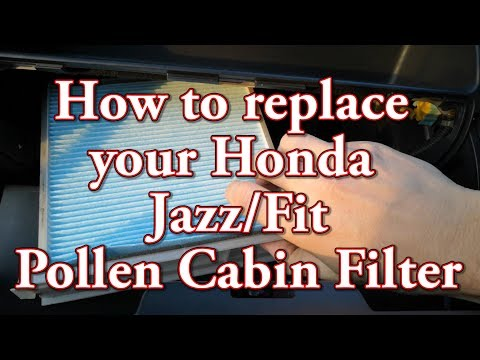 How to replace your Honda Jazz/Fit Pollen Cabin Filter
