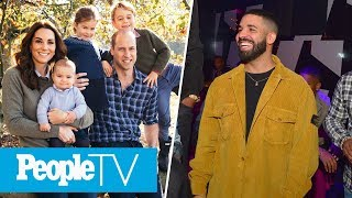 The Royal Family's Christmas Cards Revealed, The Drama Between Kanye & Drake | PeopleTV