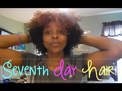 Defined Wash & Go Using Mousse!