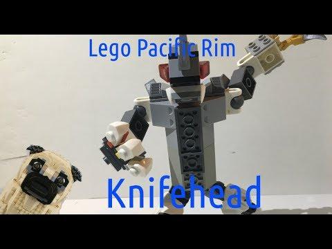 Lego Pacific Rim Instructions #2 Knifehead