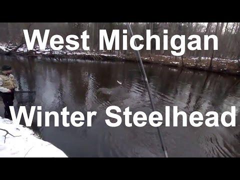 Winter Steelhead in West Michigan