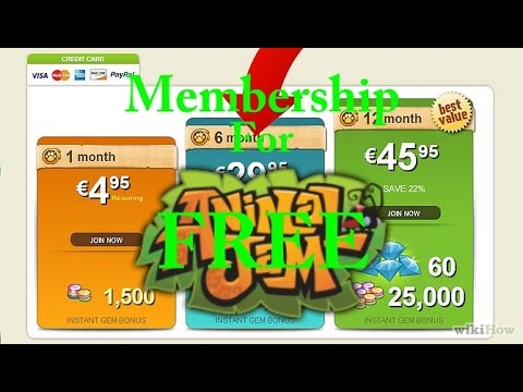 Animal Jam - How to get membership for FREE!