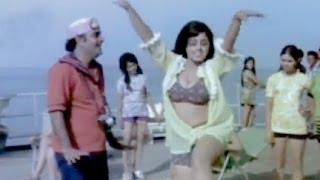 Rajendra Nath with Bikini Girl, Saazish - Comedy Scene 9/17
