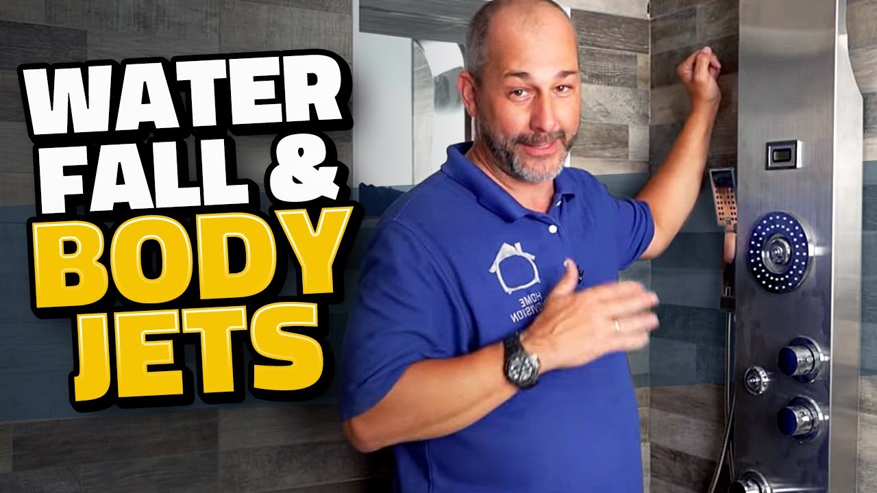 Shower Tower Installation   Easy Plumbing For Beginners