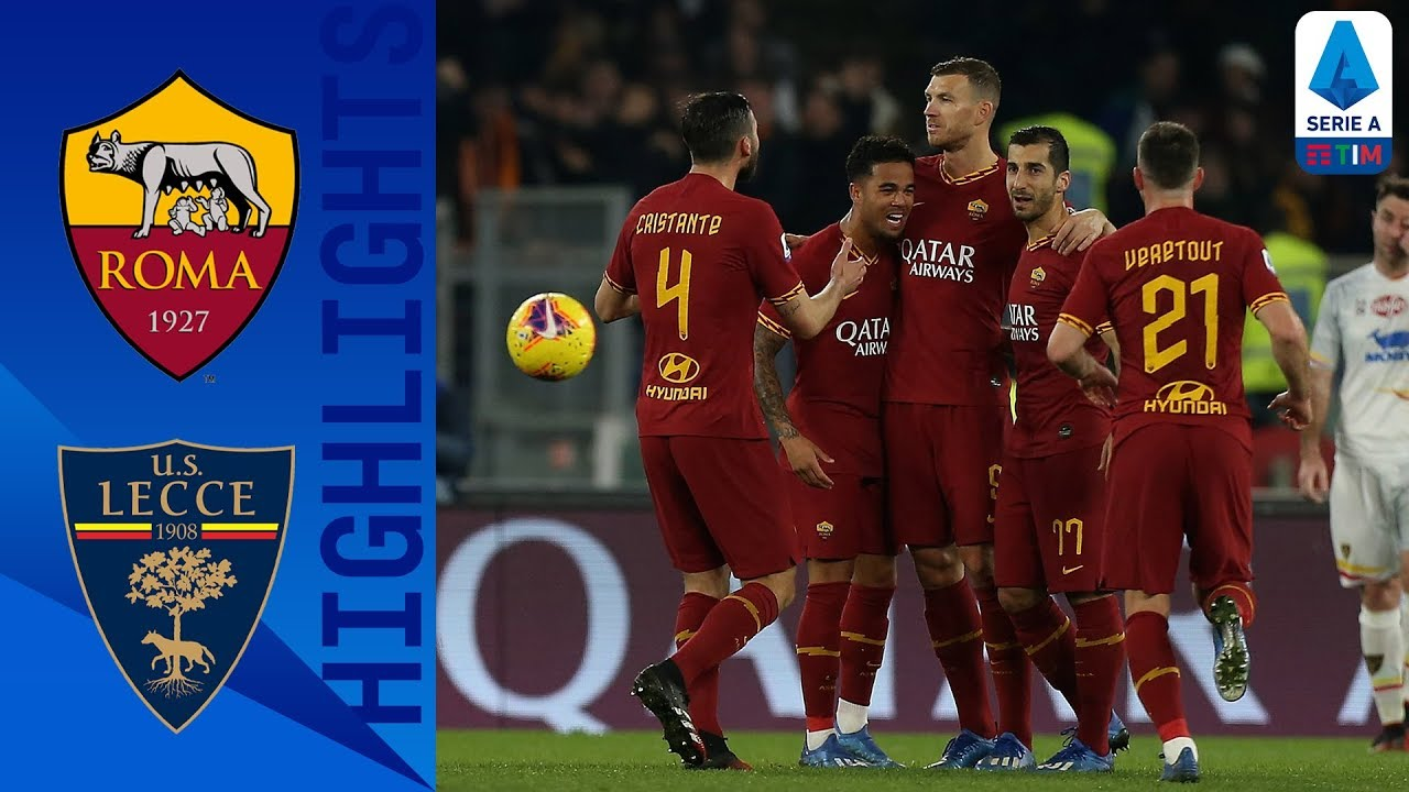 Roma 4-0 Lecce   Mkhitaryan Stars in Comfortable Victory for Roma   Serie A TIM