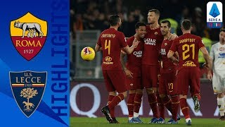 Roma 4-0 Lecce | Mkhitaryan Stars in Comfortable Victory for Roma | Serie A TIM