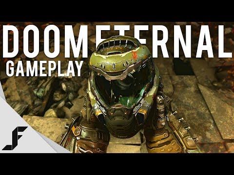 Doom Eternal Gameplay - The satisfaction of simple