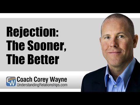 Rejection: The Sooner, The Better