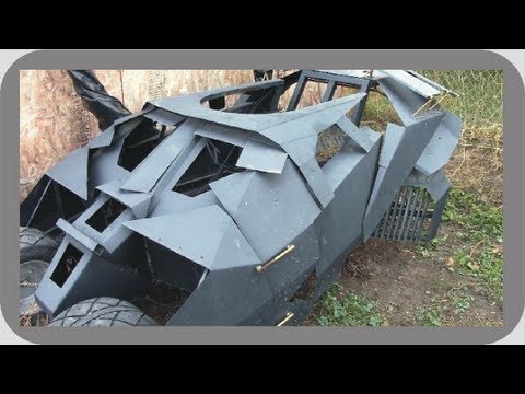 Batmobile Tumbler Go Kart Update