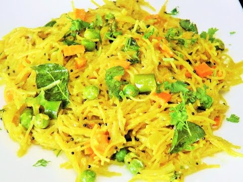 शेवई उपमा  | Sevai Upma by madhurasrecipe | Healthy Breakfast Recipe