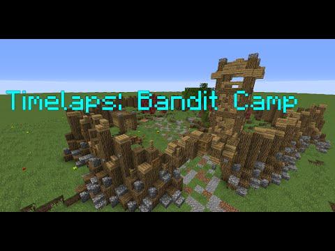 Minecraft   Timelapse: Bandit Camp