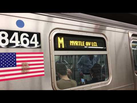 On-Board a Metropolitan Ave bound R160A-1 (M) Train from Lexington Av-63rd St to 42nd St-Bryant Park