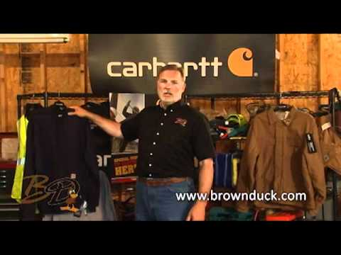 Carhartt Bib Overall Sizing and Flame Resistant Care from Brownduck.com
