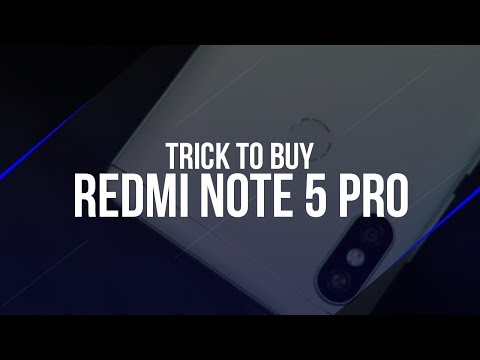 100% WORKING - Trick to Buy Redmi Note 5 Pro in the Flipkart Flash Sale on Android Phone