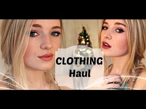 WINTER CLOTHING HAUL + Try On // kallie kaiser