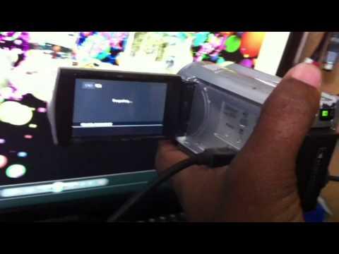Sony DCR- SR68 handycam movie recording disabled (Easy fix)
