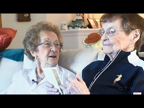 Birthday card keeps friendship strong for nearly six decades