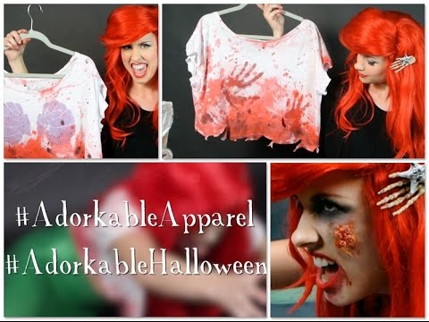 Adorkable DIY Halloween Series: Zombie Mermaid!