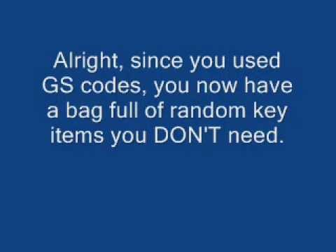 How to DELETE ANY KEY ITEM IN POKEMON FIRERED/SHINY GOLD B5