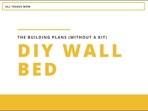 DIY WALL BED Part 1 | with IKEA pax wardrobe help | under $300
