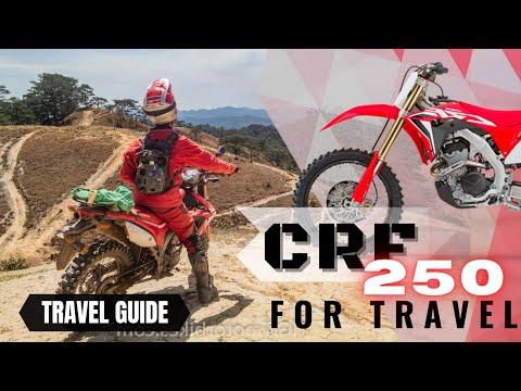 Honda CRF 250cc Travel Vietnam by Motorbike