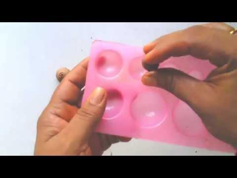 Simple jhumka making - terracotta / clay jewellery tutorial