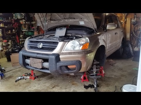 2004 Honda Pilot Front Struts.Remove and replace