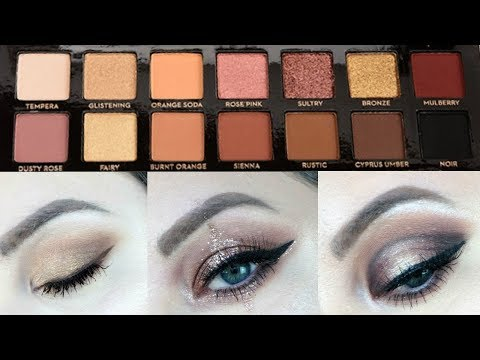 3 LOOKS 1 PALETTE : ABH SOFT GLAM PALETTE | MakeupByMegB