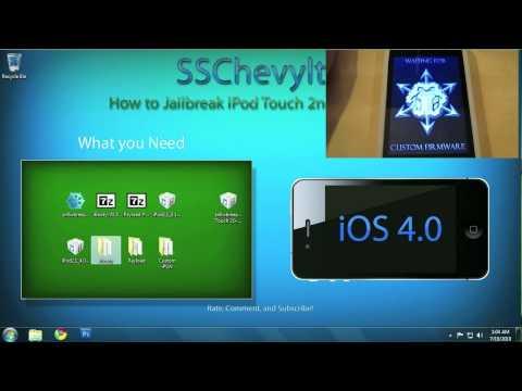How to Jailbreak iPod Touch 2nd Gen MC model # iOS 4