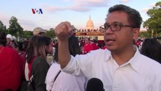 Aksi Peduli Indonesia di Washington, DC - Liputan Berita VOA